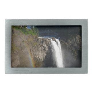 Snoqualmie Falls Washington Belt Buckle