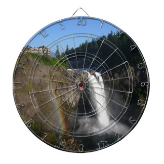 Snoqualmie Falls Washington Dartboard