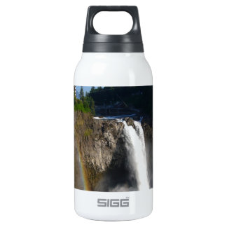 Snoqualmie Falls Washington Insulated Water Bottle