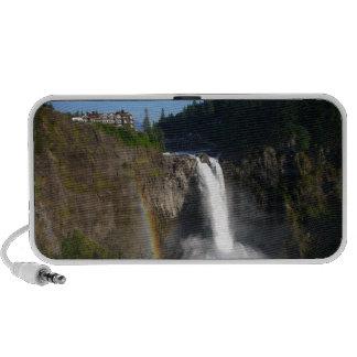 Snoqualmie Falls Washington Laptop Speakers