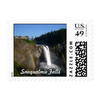Snoqualmie Falls Washington Postage Stamp