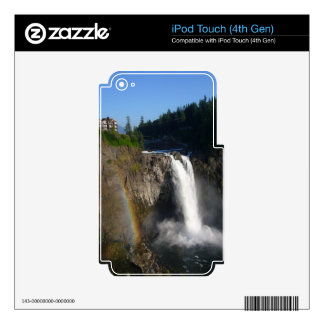 Snoqualmie Falls Washington Skins For iPod Touch 4G
