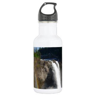 Snoqualmie Falls Washington Stainless Steel Water Bottle