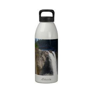 Snoqualmie Falls Washington Water Bottles