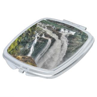 Snoqualmie River Falls Washington, US Nature Photo Vanity Mirror