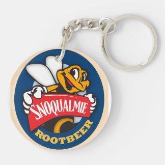 Snoqualmie Root Beer Keychain