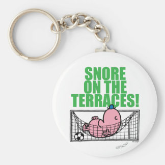 Snore On The Terraces! Key Chains