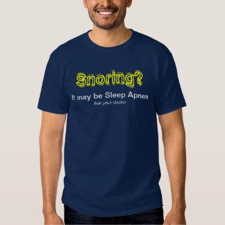 Snoring? - Dark T-shirt