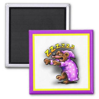 Snoring Hibey Magnet