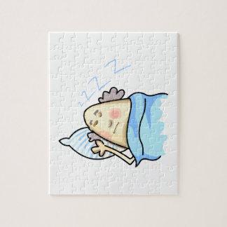 SNORING MAN JIGSAW PUZZLE