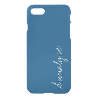 Snorkel Blue Royal Nautical Solid Color Custom iPhone 7 Case