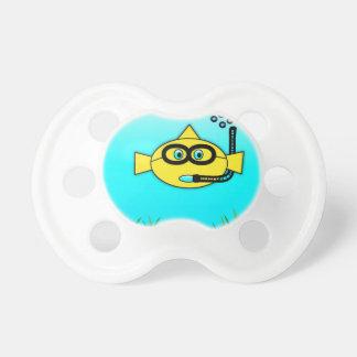 Snorkel Fish Pacifier