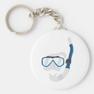Snorkel Mask Key Chains