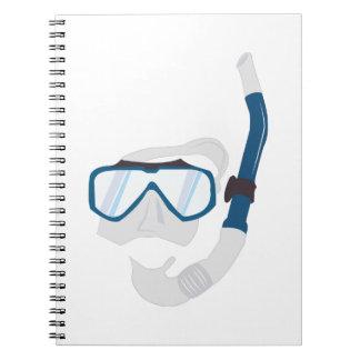 Snorkel Mask Notebook