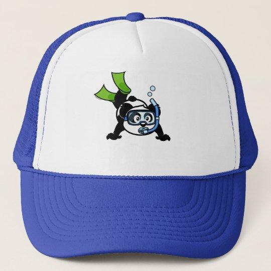 Snorkel Panda Trucker Hat
