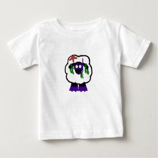 Snorkel Sheep Baby Shrit T Shirt