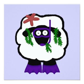 Snorkel Sheep Invitations