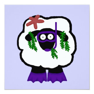 Snorkel Sheep Invitations