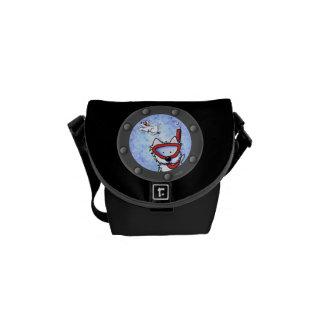 Snorkel Westies Porthole Messenger Bags