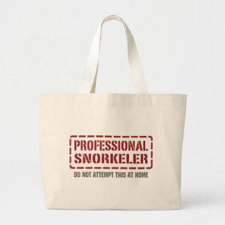 Snorkeler profesional bolsa de mano