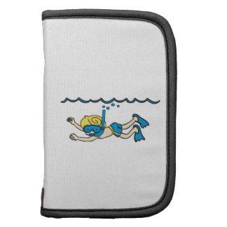 Snorkeler Underwater Planners