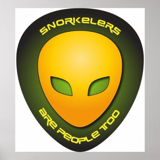 Snorkelers es gente también impresiones