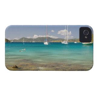 Snorkelers in idyllic Pirates Bight cove, Bight, Case-Mate iPhone 4 Cases