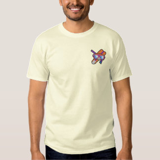 Snorkeling Embroidered T-Shirt