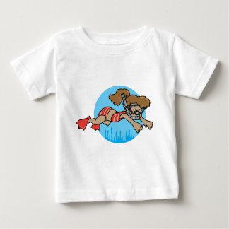 Snorkeling Girl Infant T-shirt