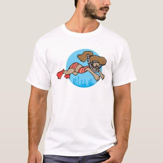 Snorkeling Girl T-Shirt