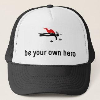 Snorkeling Hero Trucker Hat