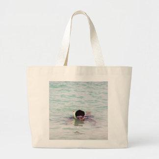 Snorkeling in the Lakshadweep Islands Tote Bag