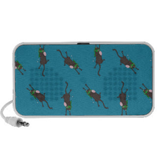 Snorkeling Mice Notebook Speakers
