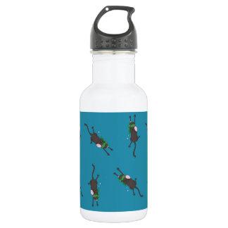 Snorkeling Mice Stainless Steel Water Bottle
