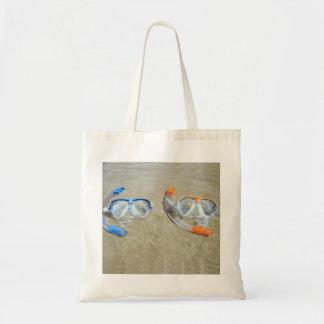 Snorkeling Pair Tote Bag