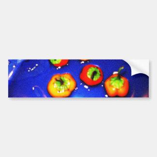 Snorkeling Peppers Bumper Sticker