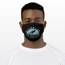 Snorkeling Saying Adult Cloth Face Mask
