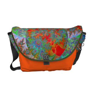 """Snorkeling The Reef"" Courier Bag"