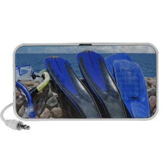 snorkeling tools travel speakers