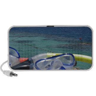 snorkeling tools iPod speakers