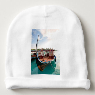 Snorkelling Boat Baby Beanie