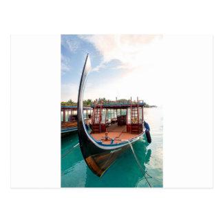 Snorkelling Boat Postcard