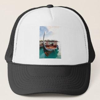 Snorkelling Boat Trucker Hat
