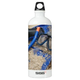 Snorkelling Fun in Bermuda Aluminum Water Bottle