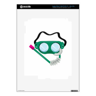 Snorkle Gear Decal For iPad 3