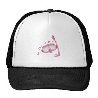 Snorkler at Heart Trucker Hats