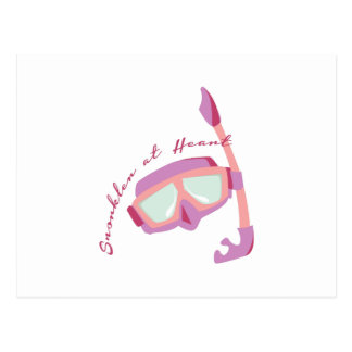 Snorkler at Heart Postcards