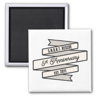 SNORT Anniversary - Special Edition Logo Magnet