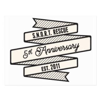 SNORT Anniversary - Special Edition Logo Postcard