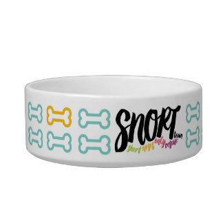 SNORT doggy bowl